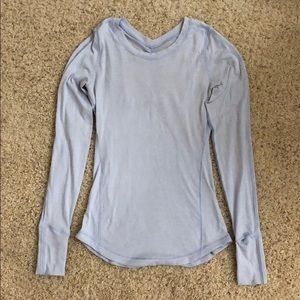 Lululemon long sleeve tech top, s 4 good condition
